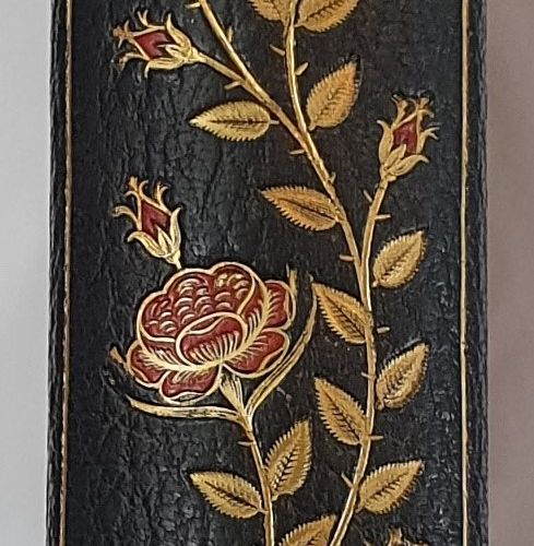 ABOUT (Edmond). Tolla. Paris, Hachette et Cie, 1889. Grand in 4, demi maroquin v…