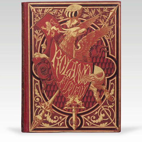 ARIOSTE. Roland furieux. Poème héroïque. Paris, Hachette et Cie, 1879. In folio,…