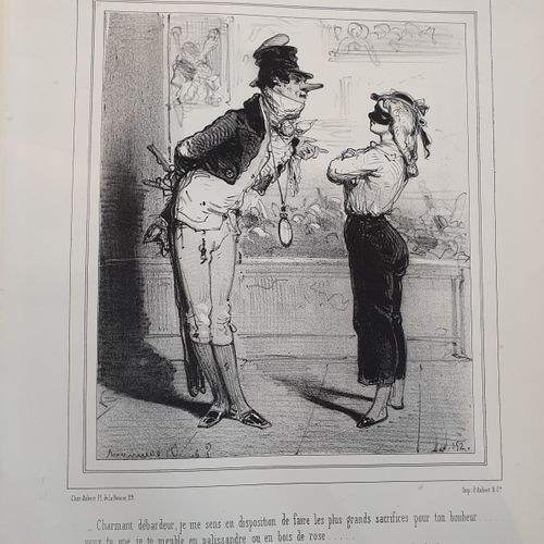 BEAUMONT (Édouard de). Album comique. Paris, Au Bureau du Journal amusant & du P…