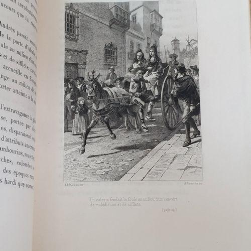 GAUTIER (Théophile). Militona. Paris, L. Conquet, 1887. In 8, demi maroquin fauv…