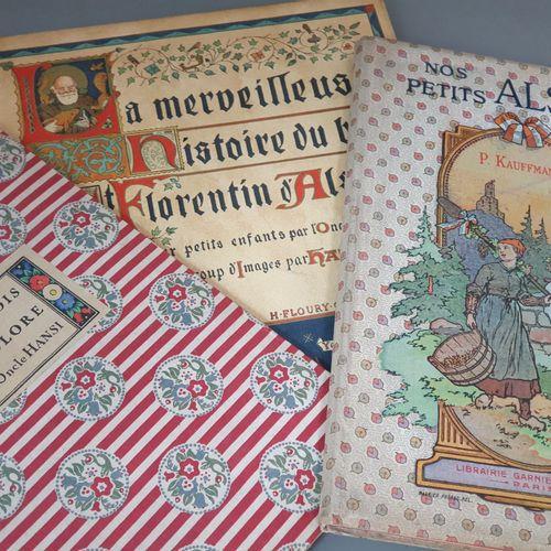 HANSI. Ensemble 2 ouvrages. Le Paradis tricolore. Petites villes et villages de …