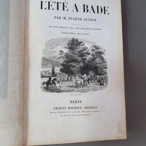 GUINOT (Eugène). L Été à Bade. Deuxième édition, revue et corrigée. Paris, Ernes…