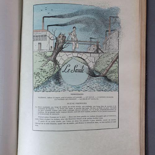 DOUCET (Jérôme). Notre ami Pierrot. Une douzaine de pantomimes. Paris, Paul Olle…