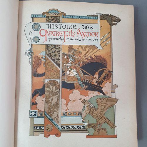 HISTOIRE DES QUATRE FILS AYMON très nobles et très vaillans chevaliers. Introduc…