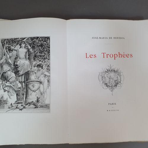 HEREDIA (José Maria de). Les Trophées. Paris, L. Carteret pour René Descamps Scr…
