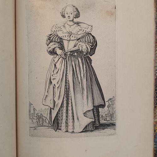 CALLOT (Jacques). La Noblesse de Lorraine. [vers 1625]. In 8, demi veau blond av…