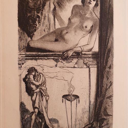 BAUDU (René). Agora. Paris, Pour le compte des auteurs, 1925. In 4, demi maroqui…