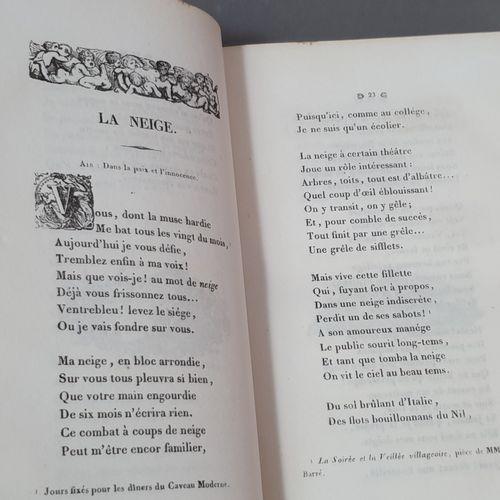 DÉSAUGIERS (Marc Antoine). Chansons et poésies diverses. Sixième édition, consid…