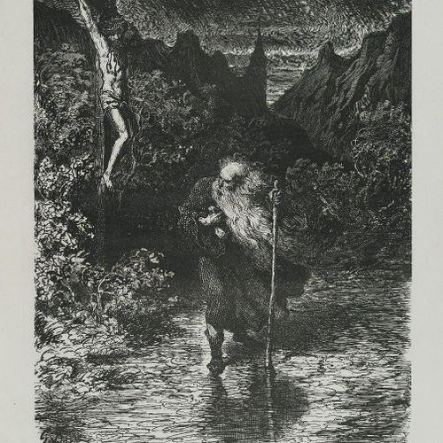 DUPONT (Pierre). La Légende du Juif errant. Paris, Michel Lévy, 1856. Grand in f…