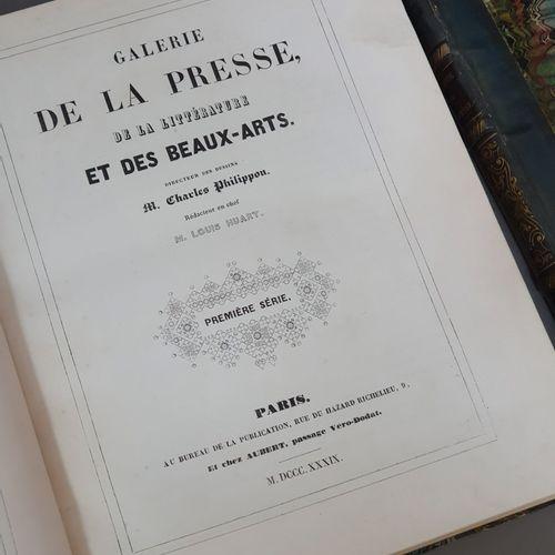 GALERIE DE LA PRESSE, de la littérature et des beaux arts. Paris, Au Bureau de l…