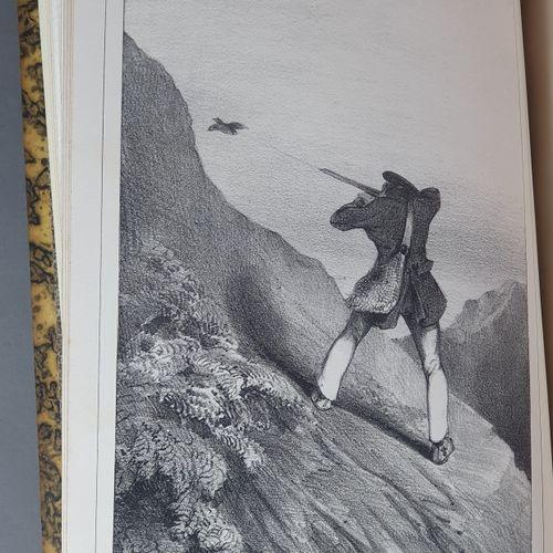 DEYEUX (Théophile). Le Vieux chasseur. S.L. [Paris, Houdaille], 1835. Grand in 8…