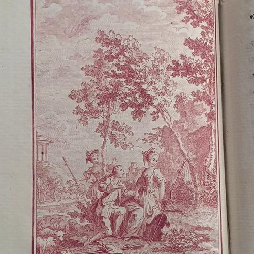 [FONTENELLE]. Les Amours de Mirtil. Constantinople, 1761. In 8, maroquin rouge, …