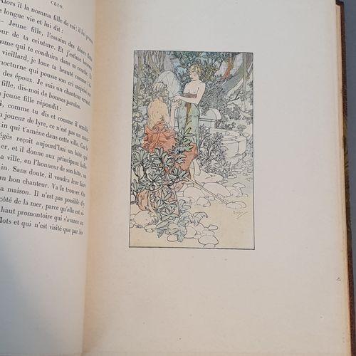FRANCE (Anatole). Clio. Paris, Calmann Lévy, 1900. In 8 carré, demi maroquin hav…