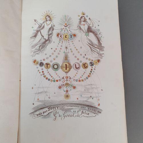 GRANDVILLE. Les Étoiles, dernière féérie. Paris, De Gonet, Martinon ; Leipzig, C…