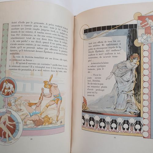 BERTHEROY (Augustin). Cypselos the invincible. Greek tale. Paris, Henri Floury, …