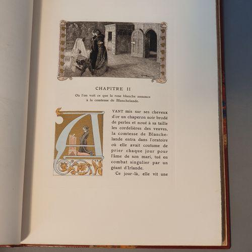 FRANCE (Anatole). Abeille. Paris, Ferroud, 1927. In 4, demi maroquin fauve avec …