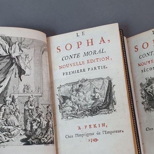 CRÉBILLON (Claude Prosper Jolyot de). Le Sopha, conte moral. Nouvelle édition. P…