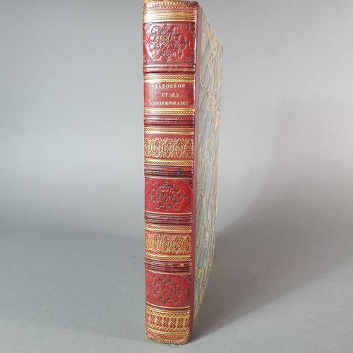 CHAMBURE (Auguste de). Napoléon et ses contemporains. Suite de gravures représen…