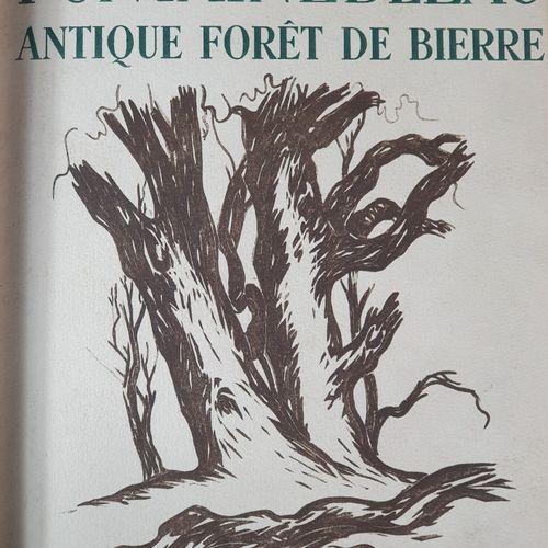 DALMON (Henri). Fontainebleau. Antique forêt de Bierre. S.L.N.D. [Paris, Stock, …