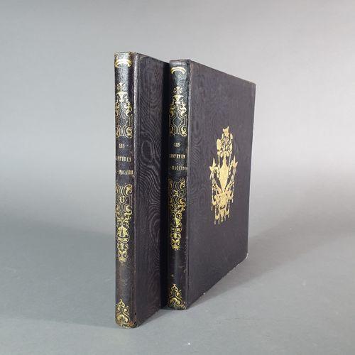 DAUMIER (Honoré). Les Cent et un Robert Macaire. Paris, Aubert et Cie, 1839. 2 v…
