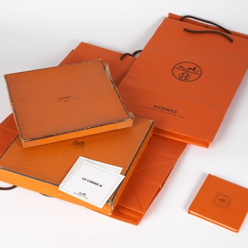 HERMES Paris BOOK of knotting squares, TWO SMALL BOOKS of the 1983 spring, summe…
