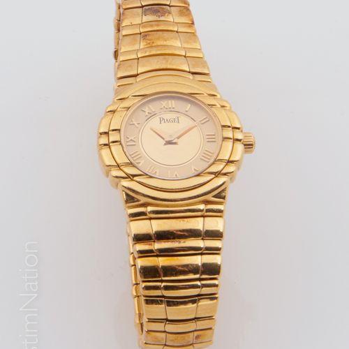 "PIAGET PIAGET ""Tanagra""  Watchband in 18 carat (750 thousandths) yellow gold, th…"