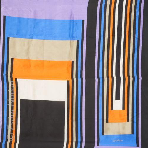 SALVATORE FERRAGAMO, PIERRE CARDIN, LOREDANO, DANIEL HECHTER THREE silk SQUARES …