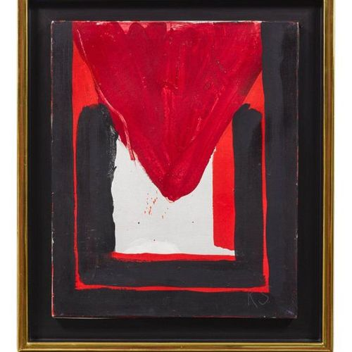 KIMBER SMITH (Boston 1922–1981 East Hampton) Le Khedive. 1962. Acrylic on canvas…