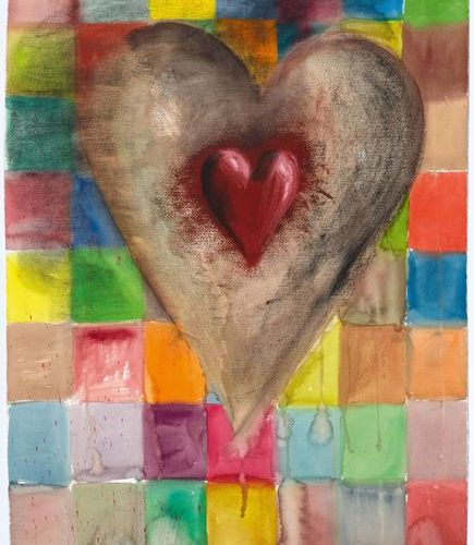 JIM DINE (Cincinnati 1935–lives and works in New York) Patched Heart #2. 1993. C…
