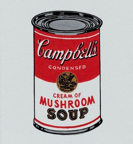 *RICHARD PETTIBONE (Los Angeles 1938–lives and works in New York) Andy Warhol 'C…