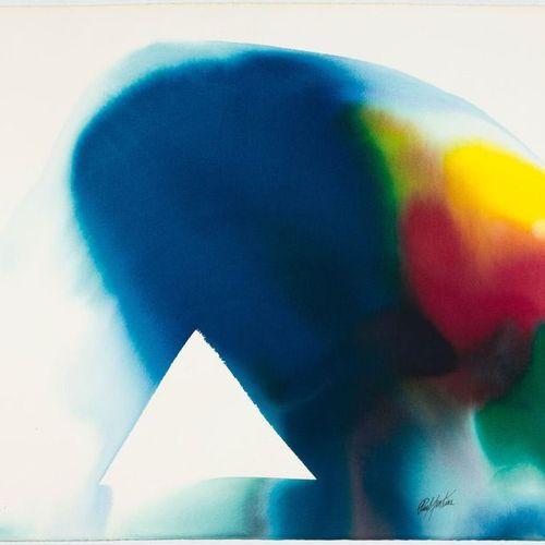 *PAUL JENKINS (Kansas City 1923–2012 New York) Phenomena Ridge by Sea Winds. 199…