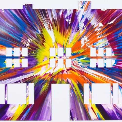 DAMIEN HIRST (Bristol 1965–lives and works in Devon) House Spin Painting. 2009. …