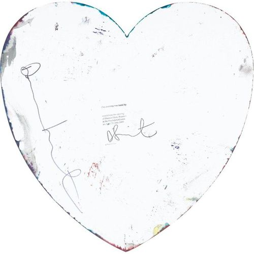 DAMIEN HIRST (Bristol 1965–lives and works in Devon) Heart Spin Painting. 2009. …