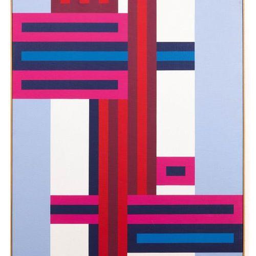 WILLI GOETZ (1921 ZURICH 2015) No. 1/2002. 2002. Acrylic on canvas. On the stret…