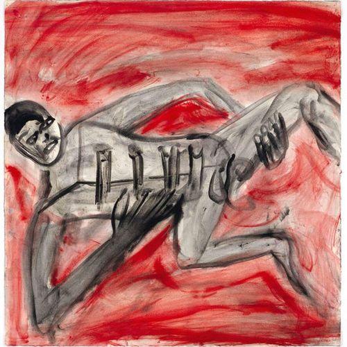 *MARTIN DISLER (Seewen 1949–1996 Geneva) Untitled. 1995. Watercolour and gouache…