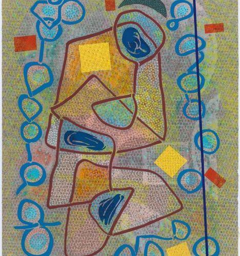 OTTO NEBEL (Berlin 1892–1973 Bern) Vorsommer Glück. 1958. Gouache and watercolor…