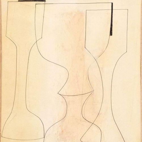 BEN NICHOLSON (Denham 1894–1982 London) Ronco 29. 1958. Pencil and watercolour o…