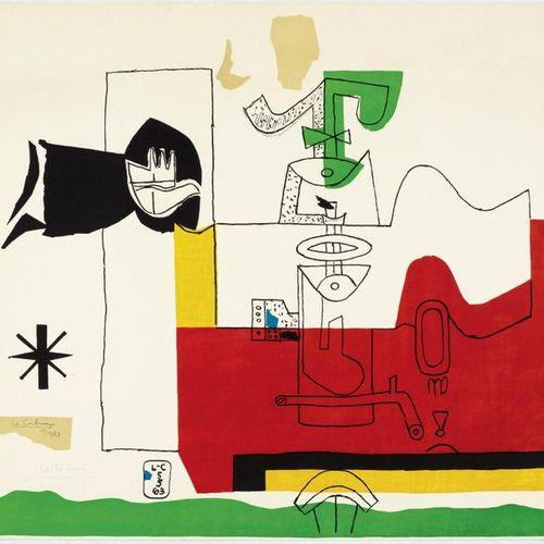 LE CORBUSIER (CHARLES ÉDOUARD JEANNERET GRIS) (La Chaux de Fonds 1887 1965 Roque…