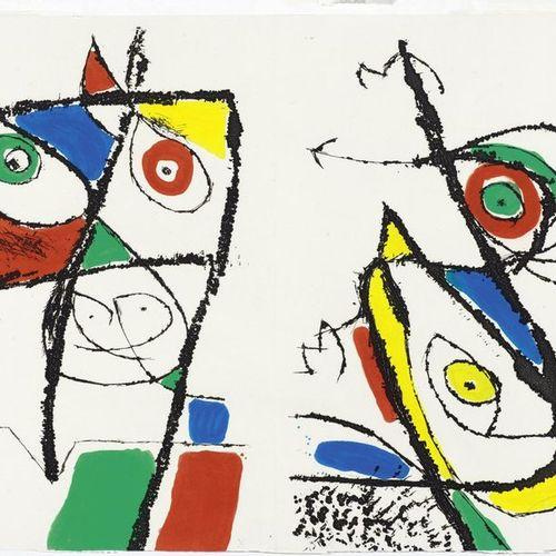 JOAN MIRÓ (Montroig 1893 1983 Palma de Mallorca )From: Le Courtisan Grotesque. 1…