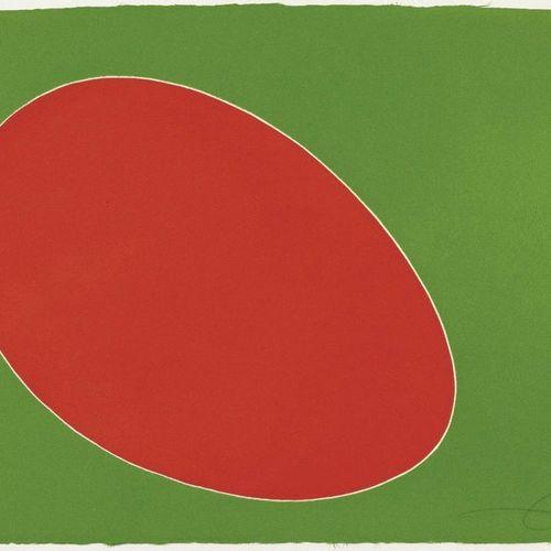 JOAN MIRÓ (Montroig 1893 1983 Palma de Mallorca )From: Càntic del Sol. 1975 .Col…