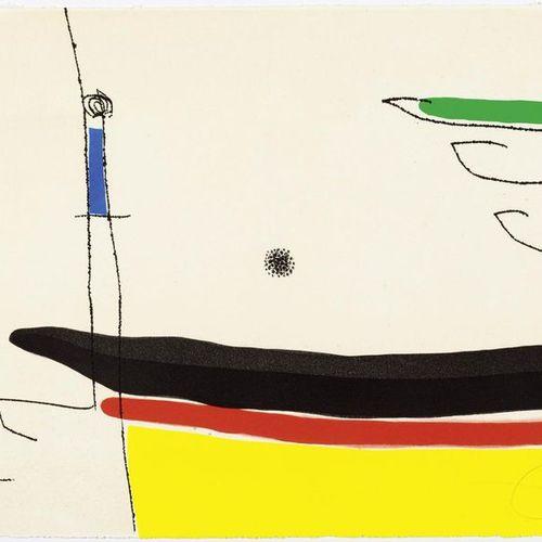 JOAN MIRÓ (Montroig 1893 1983 Palma de Mallorca )From: Le Marteau Sans Maître. 1…