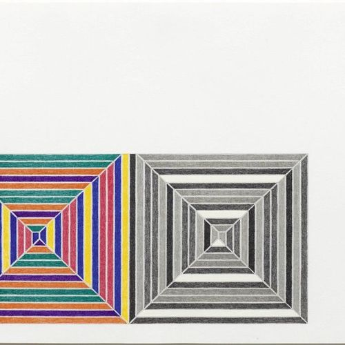 FRANK STELLA (Malden/Massachusetts 1936 lives and works in New York ) Les Indes …
