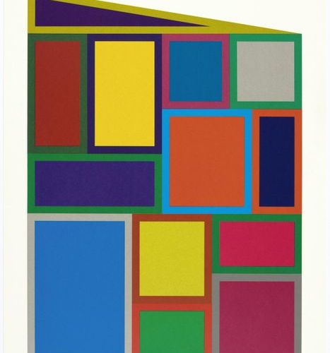 *SOL LEWITT (Hartford 1928 2007 New York )Color rectangles . 1995 .Color serigra…