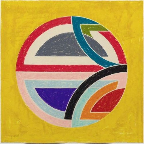 FRANK STELLA (Malden/Massachusetts 1936 Lives and works in New York )Sinjerli Va…