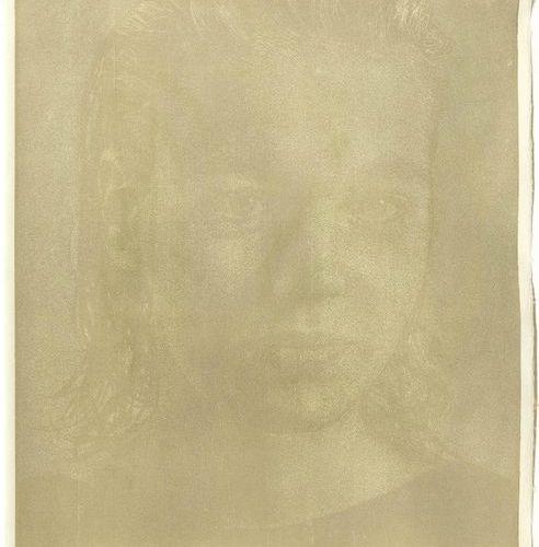 FRANZ GERTSCH (Mörigen 1930 lives and works in Rüschegg)Natascha II. 1986 .Colou…