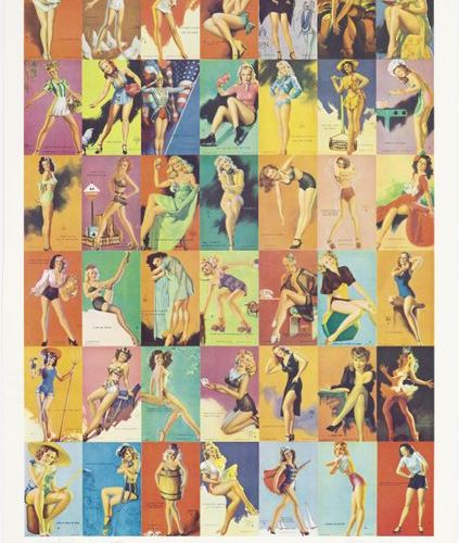 PETER PHILLIPS (Birmingham 1939 lives and works in London) Glamour Girls. 1974. …