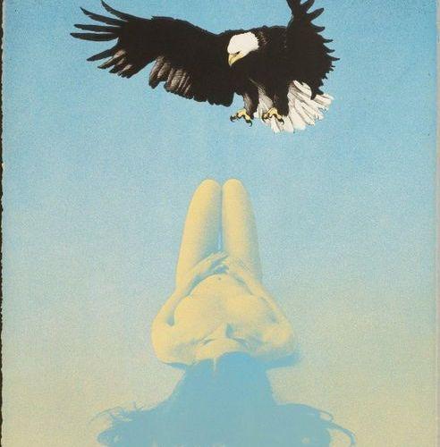 *MEL RAMOS (Sacramento 1935 2018 Oakland )Balled Eagle . 1969 .Color lithograph.…