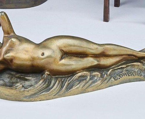 Georges OMERTH (1895 1925) Georges OMERTH (1895 1925)  Femme nue allongée sur la…