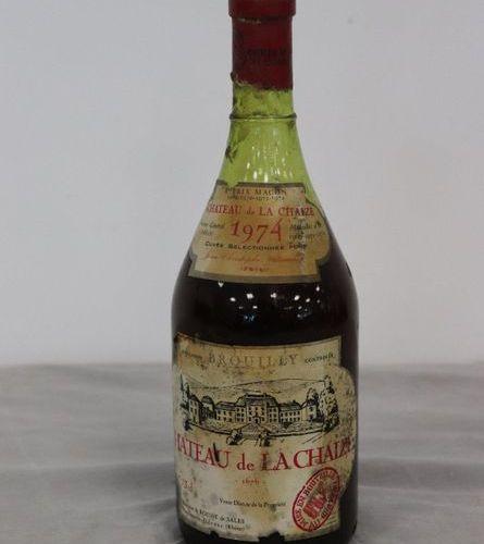 1 Blle BROUILLY, Mise Château de LACHAIZE, 1974 1 Blle BROUILLY, Mise Château de…