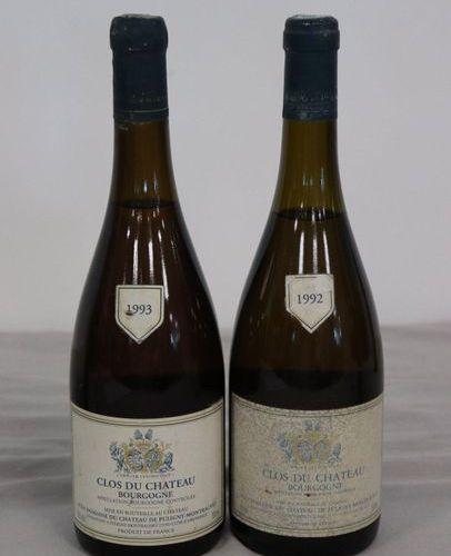 2 Blles CLOS DU CHÂTEAU mise du Ch. De Puligny Montrachet : 2 Blles CLOS DU CHÂT…